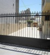 Metallic sliding gate for a house in Zipari village